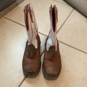 Little boys Roper Baseball boots